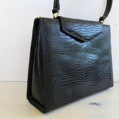 classic black vintage #kelly_bag   @JennyandPearl, $36.00