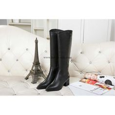 Chanel 2015 new style leather Boots CB120