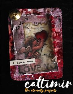 Cattimir - The eternity projects: Mixed media, #52cafecards
