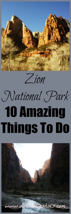 10 Amazing Things to Do at Zion National Park | Dirt In My Shoes