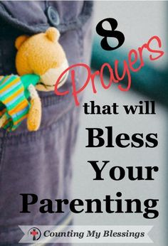 Being a parent is hard work, but it can be a blessed journey. But the journey takes prayer. Lots of prayer. Here are a few to help you get you started.