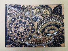 my doodle zentangle  My art :) Pen and drawing with Sharpie and other markers