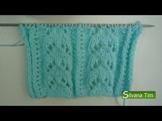 Punto (puntada) CALADO FANTASÍA. Tejido con dos agujas # 156 - YouTube Spool Knitting, Knitting Help, Knitting Stiches, Knitting Videos, Crochet Videos, Crochet Coat, Love Crochet, Knitting Patterns, Crochet Patterns