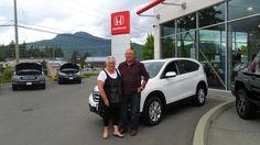 Congratulations Kelvin and Carolyn. Very Nice CRV! Enjoy it.