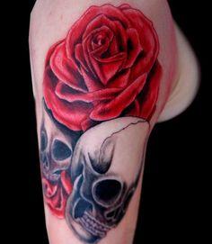 tattoos | 15 Lovely Flower Tattoo Designs