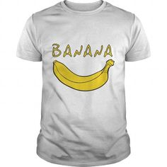 Banana T Shirts, Hoodies. Check price ==► https://www.sunfrog.com/LifeStyle/Banana-White-Guys.html?41382 $19