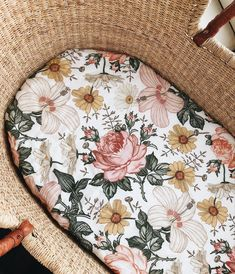 Our blankets are large enough to wrap around a Moses basket cushion to make the prettiest cover💛 Girl Nursery, Girl Room, Cushions To Make, Moses Basket, Baby Nest, Floral Nursery, Wishes For Baby, Everything Baby, Baby Accessories