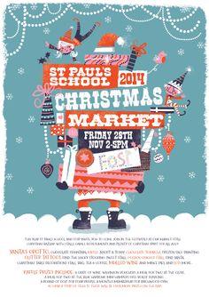 School Xmas poster