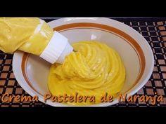 Crema Pastelera de Naranja. Receta muy fácil - YouTube