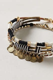 Anthropologie - Antiquarian Bangle Set
