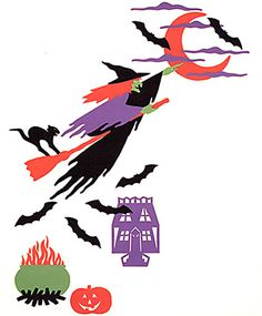 Bewitching Hour Halloween Wall Decals