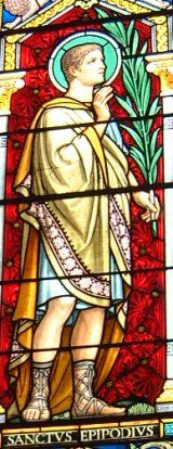 |Saint/s of the Day – April 22 – St Epipodius & Alexander Died in 178 Martyrs – Patrons of bachelors, victims of betrayal and victims of torture. #pinterest Epipodius was a native of Lyon; Alexander was said to be a native of Phrygia, and a physician by profession. They were both martyred ...... Awestruck.tv