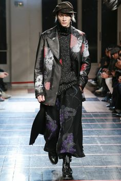 Yohji Yamamoto • A/W 2014-15 Menswear • Paris