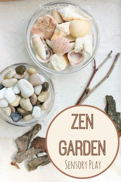 If you've ever trailed your fingers through a miniature Zen Garden, you know just how soothing and relaxing it  Continue Reading  Zen Garden Sensory Play