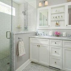 Small Gray Bathroom Makeover - AFTER - ThriftDiving.com blog