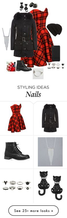"""Untitled #1147"" by brianaleighwright on Polyvore featuring Barbour International, Phase 3, Incase, Avenue, BKE and Tressa"