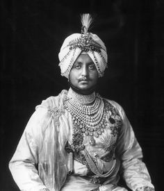 """MAHARAJA BHUPINDER SINGH OF PATIALA    Totally in love with these portraits of Maharaja Bhupinder Singh (1891 - 1938) and the royal family. The absolute decadence and ornate styling along with beautiful faded colours make the photographs dreamy and mesmerising.    Although we have to remember that these were actual people and sometimes not as regal or decent as their pictures make them out to be…    """"The prime example of the princely order at its worst was Bhupinder Singh of Patiala. He was…"""