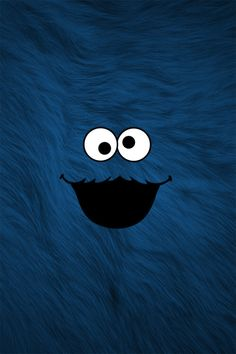 Cool Cookie Monster wallpaper for iPhone 5 and up