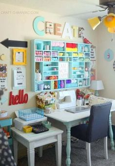 10 Drool Worthy Craft Rooms - Daily Dose of DIY