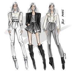✔ Fashion Drawing Sketches Step By Step Fashion Drawing Dresses, Fashion Illustration Dresses, Fashion Illustrations, Fashion Design Sketchbook, Fashion Design Drawings, Fashion Sketches, Art Sketchbook, Fashion Jobs, Fashion Models