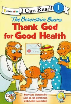 Kids e-Book Sale: The Berenstain Bears, Thank God for Good Health Reader ~ 99 cents! {read it on your iPad, Kindle, Phone or Computer! #ebooks #thefrugalgirls