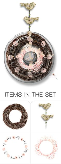 """""""Vintage Style Sun Catcher """"Art Contest """""""" by julidrops ❤ liked on Polyvore featuring art and vintage"""