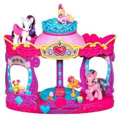 My Little Pony Feature Playset. Rarity's Carousel Boutique.