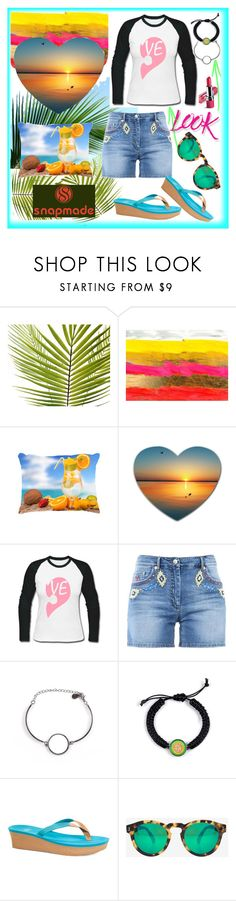 """Shorts + Flipflops"" by westcoastcharmed ❤ liked on Polyvore featuring Avon, Moschino, UGG, Illesteva and NYX"