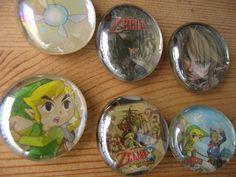 Sweet Zelda magnets