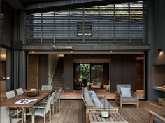 Modern Home Especially Designed for Active Relaxation in New Zealand by Matt Chaplin of Sumich Chaplin Architects in collaboration with Jen Pack