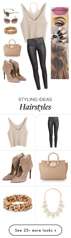 """Untitled #2977"" by sigalv on Polyvore featuring H&M, Christian Dior, Forever 21, STELLA McCARTNEY, Jimmy Choo and Kat Von D"