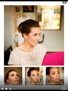 Wedding hair and make up by Powder inc