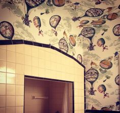 schumacher balloons wallpaper (sku 2704320)