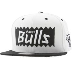 differently abff9 93d53 BAIT x NBA x Mitchell and Ness Chicago Bulls STA3 Wool Snapback Cap (white