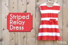 icandy handmade: (tutorial and pattern) JCrew Knockoff: Stripe Relay Dress