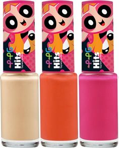 Polish Nail, Powerpuff Girls