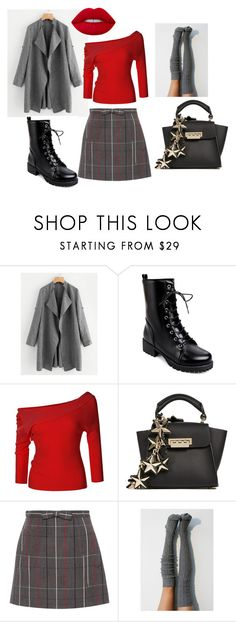 """Not that fancy please"" by yanica68 on Polyvore featuring LE3NO, ZAC Zac Posen, Miu Miu, Lime Crime and for"