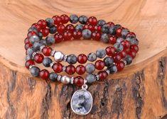 Spektrolit ve Akik Taşlı Üç Sıra Gümüş Bileklik Zet.com'da 125 TL Jasper, Beaded Bracelets, Jewelry, Jewlery, Jewerly, Pearl Bracelets, Schmuck, Jewels, Jewelery