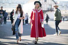 Неделя моды в Париже F/W 2015: street style. Часть 4 (фото 8)