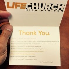 Only one in twenty-three first time guests ever make a return appearance at the average church. That's a tough average… and I believe Godcalls all church leaders to be anything BUT average! Here are the five steps our two-year-old church start-up takes to get first-time guests to return: We are HYPER about Connection Cards. We […]