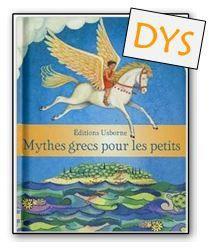 Mythes grecs pour les petits DYS (16 histoires ci-jointes)
