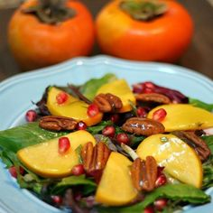 "Persimmon and Pomegranate Salad | ""Totally a keeper!"""