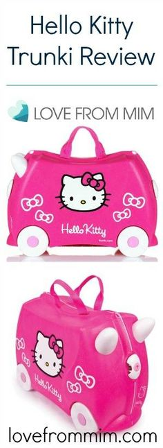 Trunki Kids Suitcase - Trixie Pink $74.95 #limetreekids #kids ...