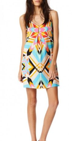 Mara Hoffman Shift Dress in Aura Stone - Spinout