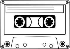 Free Image on Pixabay - Cassette, Tape, Audio, Music, Sound - Clip Art Vintage, Art Cassette, Cassette Tape Crafts, Cassette Tattoo, Casette Tapes, Nam June Paik, 1980s Kids, Song Request, Magnetic Tape