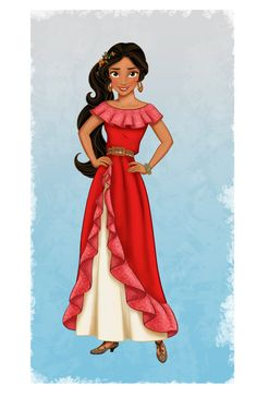 Meet Disney's First Latina Princess who will star  in a spin-off series on Disney Junior