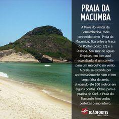 ed4ac253b09 Bairros do Rio de Janeiro  Recreio dos Bandeirantes. Praia da Macumba.