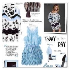 """""""TODAY IS THE DAY"""" by larissa-takahassi ❤ liked on Polyvore featuring Elena Ghisellini, Whiteley, Fendi, Gucci and Polaroid"""