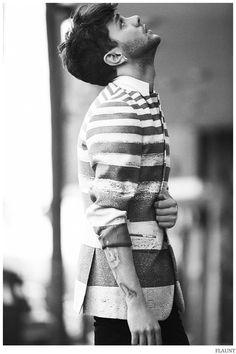 Xavier Dolan Poses for Flaunt Shoot, Talks Perfection image Xavier Dolan Flaunt 2014 Photo Shoot 002