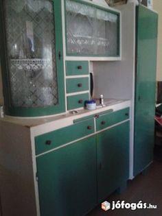 Konyhaszekrény Lockers, Locker Storage, Cabinet, Furniture, Design, Home Decor, Art, Clothes Stand, Art Background